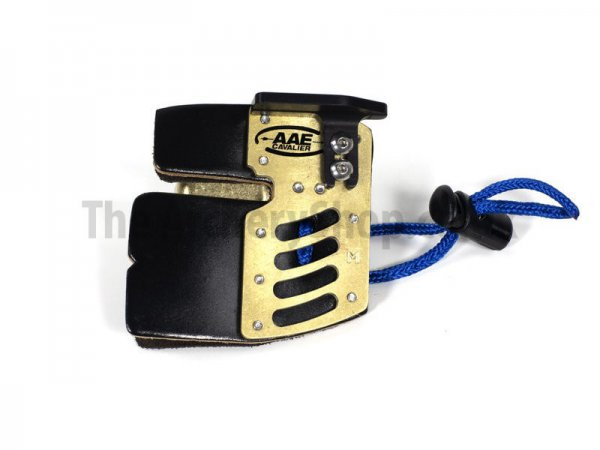 AAE - Brass Cordovan Elite Finger Tab