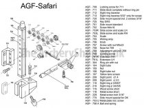AGF - Parts For Safari Recurve Sight