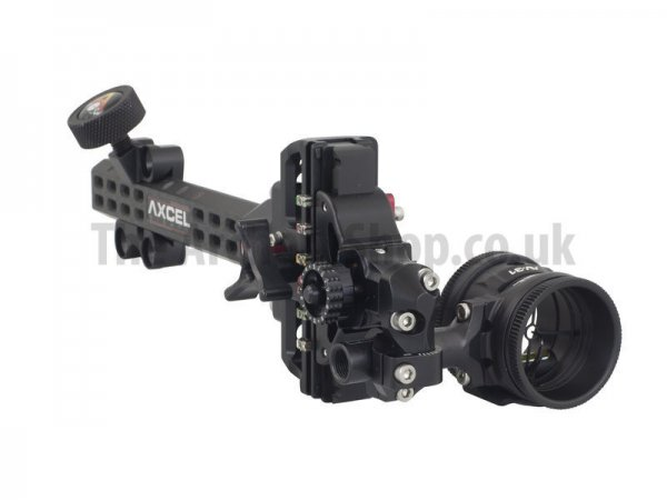 AXCEL - Accutouch Plus Carbon Pro Slider Compound Sight (with Accuview AV Single Pin Scope)