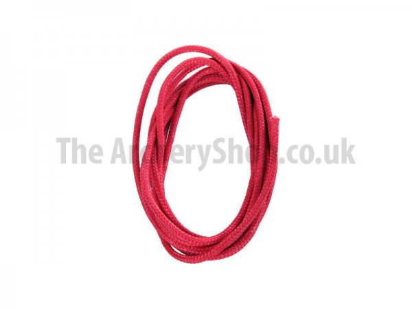 "BCY - Red Braided .060"" D-Loop Rope - 1m Length"