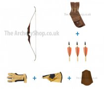 Bear Archery - Gold Traditional Bow Kit