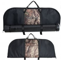 Buck Trail - Soft Case Longbow Cover (Black/Camo)