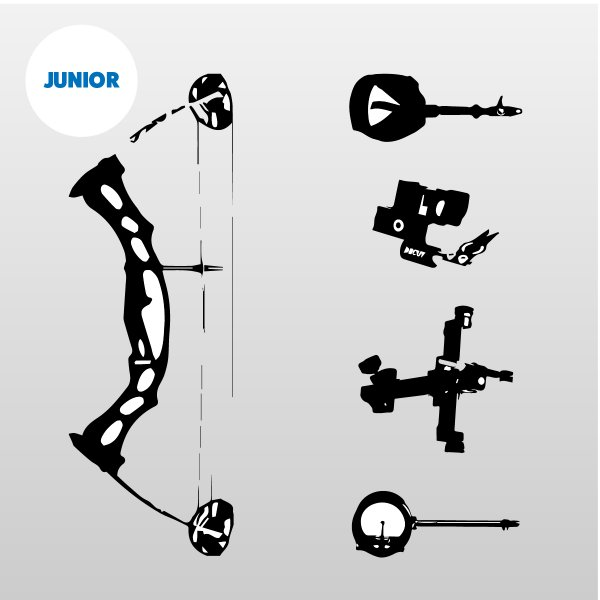 Compound Bow Kit - Junior