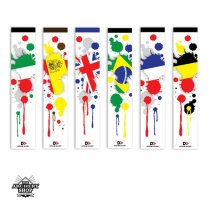 Designer Archery - FLAGS arrow wraps - Medium (13 pcs.s)