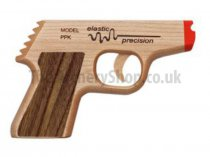 Elastic Precision - Toy Gun PPK Maple/Walnut