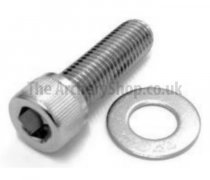 Gillo - 1″ Socket screw 5/16-24 UNF + M8 Washer