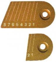 Gillo - G1 Original Aluminium Clicker Plate Kit