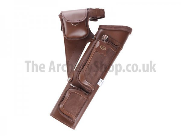"Gompy - PT-17 21"" Leather Quiver"