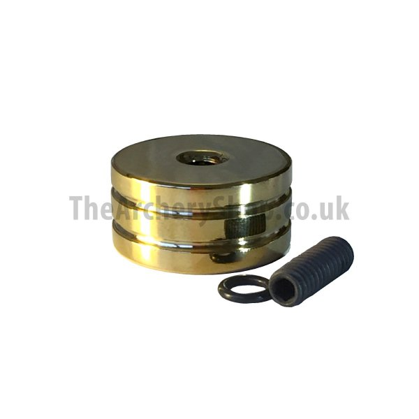 "Phi - 5/16"" Coloured Brass Stabiliser Weights"