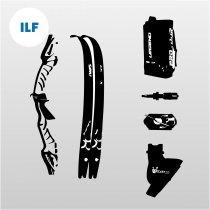 Recurve ILF Bow Kit - Gold