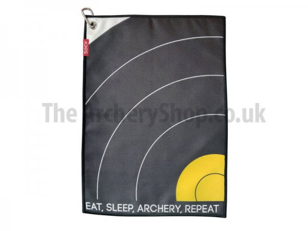 "Socx - Field Towel ""Eat, Sleep, Archery, Repeat"""