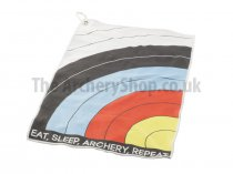 Socx - Towel ″Eat, Sleep, Archery, Repeat″