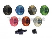 "Speciality Archery - 1/4"" Large Peep Housing Non-Hooded 37°"