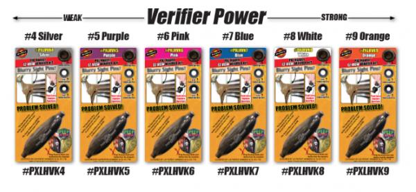 #4 Silver PXL Hunter Peep Verifier Lens Specialty Archery