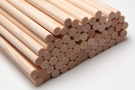 "Superschaft - Weighted 11/32-9/32"" Tapered Spruce Shafts (12x pcs)"