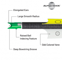 TenPoint - Alpha Moulded Crossbow Bolt Nocks