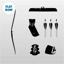 Traditional Flat Bow Kit