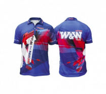 Win & Win - 2015 Official Archer T-Shirt (Blue-Red)