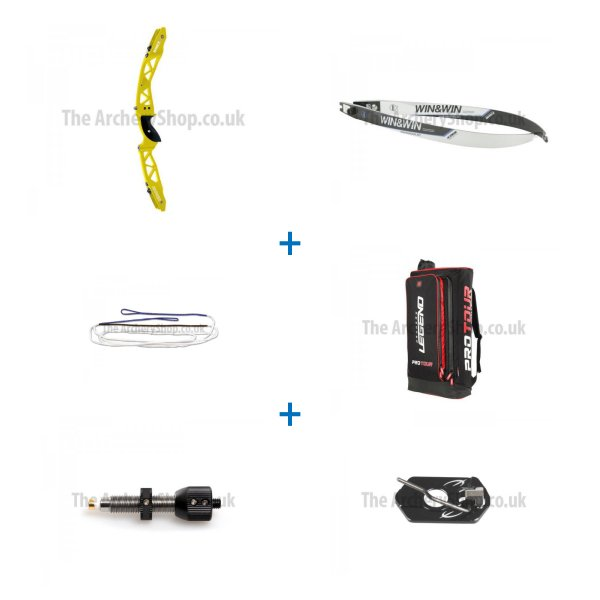Win & Win - Winex 2 Silver Recurve Bow Kit