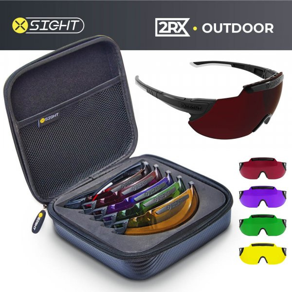 X Sight Sport - 2RX Outdoor Archery Glasses Set